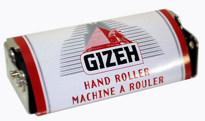 Gizeh Metal Hand Tobacco Roller - Stainless Steel Cigarette Rolling Machine