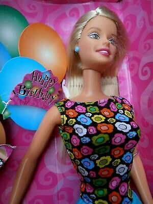 Rare Mattel Barbie Doll  -  It's My Birthday  -  Special Edition