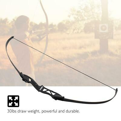 ARCHERY RECURVE BOW Takedown Hunting 68 IN Draw Weight 30