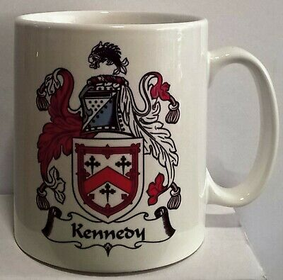 Personalised Coat of Arms Coffee Mug, Something different for your Man Cave.