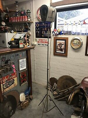 Photographer Light Theatre Prop 1950's Vintage Industrial Extendable