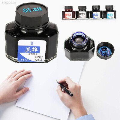 28D0 Durable Writing Ink 5 Colors 50ml Useful Fountain Pen Ink School