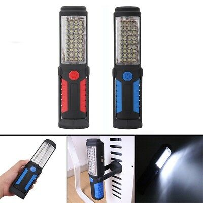 LED COB Inspection Lamp Work Light Flexible Rechargeable Magnetic Hand Torch MIN