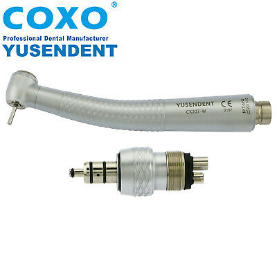COXO Dental High Speed Air Turbine Standard Handpiece Quick Coupling 4 Hole W&H