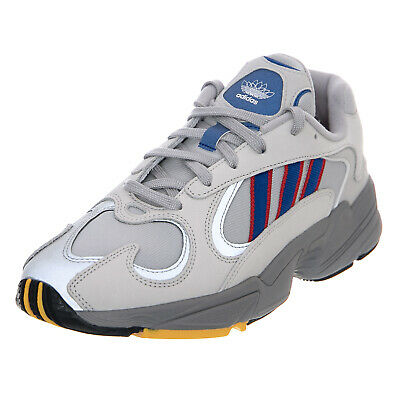 reputable site 2e8a8 6aab8 Adidas Yung-1 - Gretwo Croyal Scarlet - Sneakers Basse Uomo Grigio