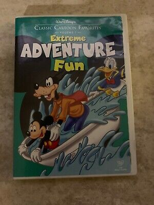 Walt Disneys Classic Cartoon Favorites Vol 7 Extreme Adventure Fun (DVD) B206