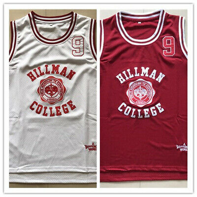 795105fe4066 Dwayne Wayne  9 A Different World Hillman College Basketball Jersey S-3XL