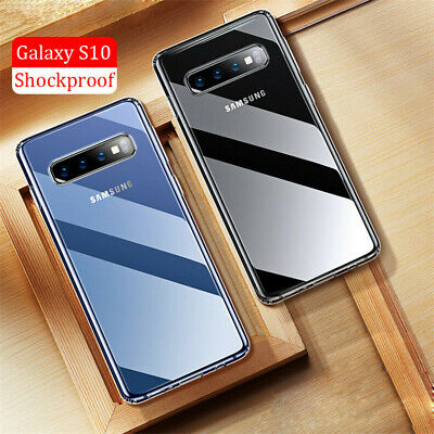 For Samsung Galaxy S10 Plus S10E Crystal Clear Ultra Slim TPU Phone Case Cover