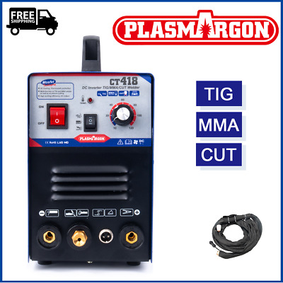 CT312 TIG/MMA Welder Plasma Cutter Tig Welder Machine & Accessories 240V 2019