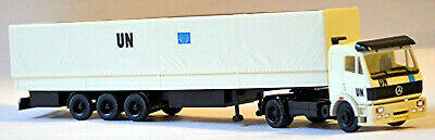 Mercedes Benz Sk Trailer Truck Tkb Spedition 1:87 Albedo 200333 Toys, Hobbies Automotive