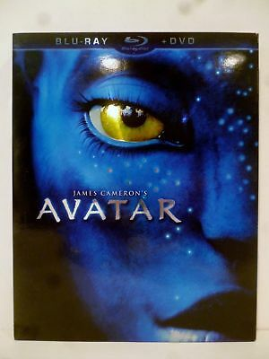 Avatar Blu-Ray + DVD 2 disc set with Slip Cover 2009