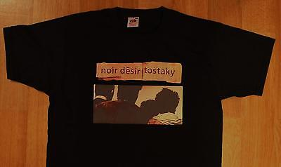 "T-Shirt du groupe NOIR DESIR ""Tostaky"" (Rock alternatif Punk)"
