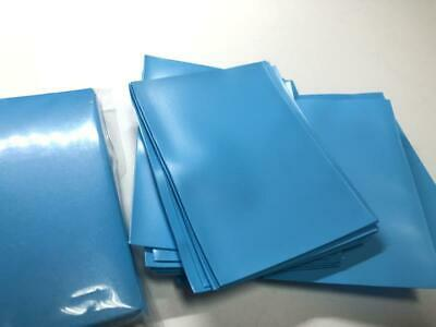 50pcs//Pack DECK PROTECTOR Card Sleeves 66mm*91mm Petrol Blue Color Matte as pic