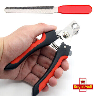 Pet Beauty Nail Dog Cat Claw Clippers Trimmer Scissors Grooming Cutters File S L