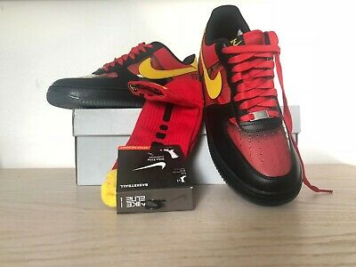 the best attitude 8ef0c 09124 NIKE AIR FORCE One Low Kyrie Irving Black/red n. 42.5 EU