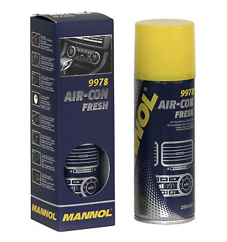 Mannol 9978 Air-Con Fresh Klimaanlage Erfrischer Desinfektion Spray