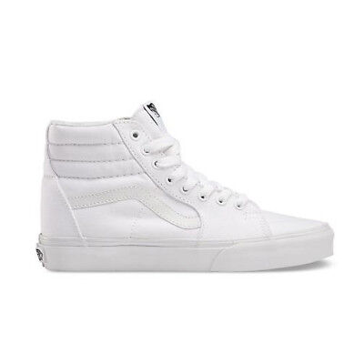 Vans Top Womens White Lace Sk8 High True Up Hi Mens Canvas rdWBeCxo
