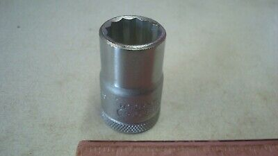 "GEDORE Made in Germany D19L 1//2/"" Drive 12 Point  DEEP SOCKET 15mm 6142460"