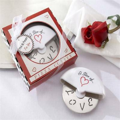 A Slice of Love Pizza Cutter Wedding Favors And Gifts Wedding Souvenirs Gifts
