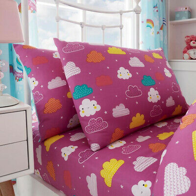Unicorn Fairytale Single Fitted Sheet and Pillowcase