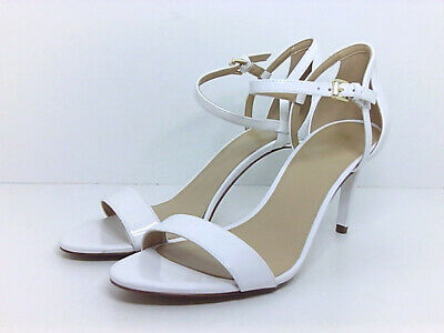 fe62ddfd98c5 Michael Michael Kors Simone mid Womens Heeled Sandals Optic White 8.5 US    6.5