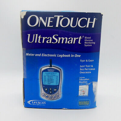 OneTouch UltraSmart Blood Glucose Monitoring System New in Box Discontinued Item