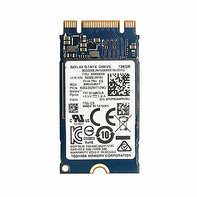 Toshiba 128GB Internal SSD M.2 2242 Solid State Drive 128GB For Lenovo Dell HP