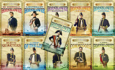 The HORATIO HORNBLOWER Series By C.S. Forester (11 MP3 Audiobook Collection)