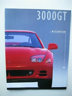 Mitsubishi 3000GT brochure Prospekt English 12 pages text 1995
