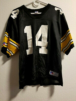 c57b64f122645 PITTSBURGH STEELERS #14 Vintage Russell Athletic Football Jersey Size 44 NEW