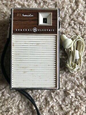 General Electric AM -All Transistor Radio-In Working Condition......1960's.....