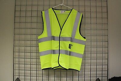 OK-1 High Visibility With Reflective Gloss Tape Open Mesh Vest Model OK-LV1
