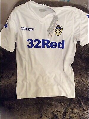 FC LEEDS UNITED HOME SHIRT BRAND NEW WITH TAGS 2018/2019 Large