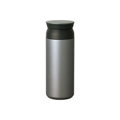 KINTO TRAVEL TUMBLER 500ml Silver 20948 Thermo Mug Bottle from JAPAN