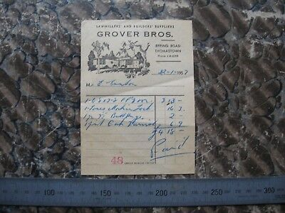 Grover Brothers Epping Rd Thomastown