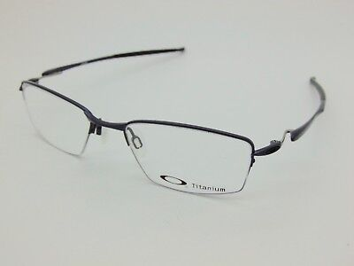 55e4e534ea NEW OAKLEY LIZARD OX5113-0451 Polished Midnight Titanium 51mm Rx Eyeglasses