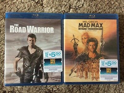 THE ROAD WARRIOR + MAD MAX BEYOND THUNDERDOME Mel Gibson/George Miller SEALED