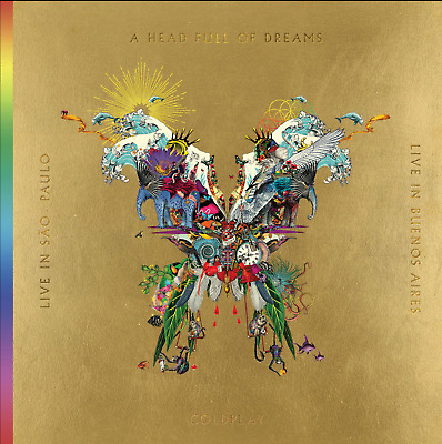 JAPAN 2x CD+ 2x DVD! COLDPLAY LIVE IN BUENOS AIRES/ SAO PAOLO/ HEAD FULL DREAMS