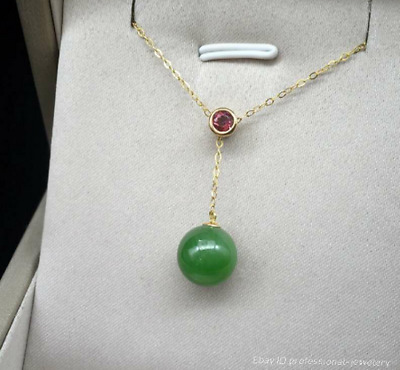 China Natural HeTian jade Hand-carved Ornaments Necklace Pendant jewelry PDDE