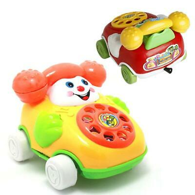 Cartoon Baby Toys Music Cartoon Phone Educational Developmental Kids Toy Gifts &