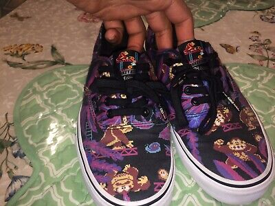 805b7c5745c277 VANS X NINTENDO Donkey Kong Size 9 In Excellent Condition 9 10 ...