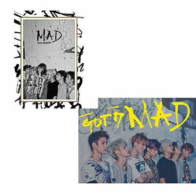 GOT7 [MAD] 4th Mini Album Vertical/Horizontal Ver CD+52p Photo Book+Card SEALED