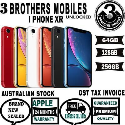 [AU STOCK] APPLE iPHONE TEN XR 128GB UNLOCK GST TAX INVOICE