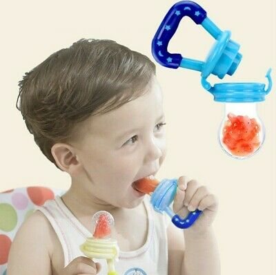 Baby Feeding Pacifier Fresh Food Fruits Feeder Dummy Soother Weaning Nipple US