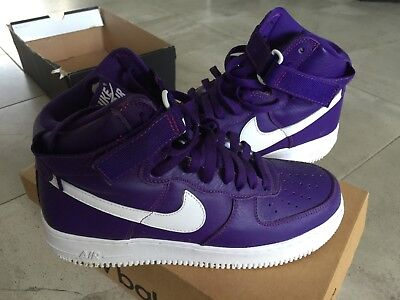 d6eefcbf66135 Ds Nike 2012 Air Force 1 Xxx Qs Foam Flat Pewter 10 Purple Eggplant Copper  White.