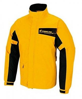 RS Taichi RSR046 Rain Suit for Motorcycle Rainbuster Yellow XL Japan Tracking