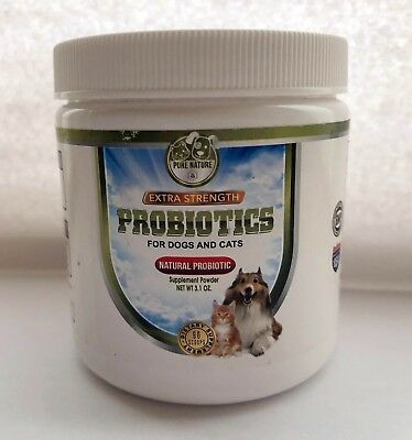 Best Natural Probiotic for Digestive Health for Dogs & Cats - Made in the USA