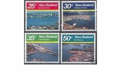New Zealand 1980 LARGE HARBOURS (4) Mint Unhinged SG 1221-4
