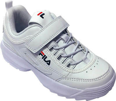 a3ce40e93171 New Fila Children Kids Girls Sneakers Kinder Sport Casual Fashion Shoes  White