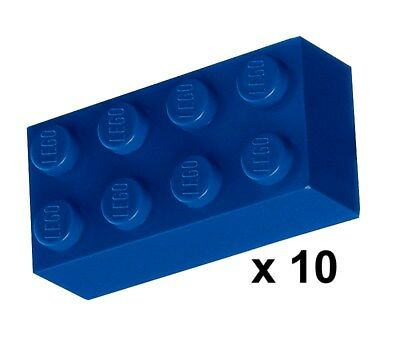 302123/_LEGO Plate 2x3 3021 /_Bright Blue Lot of 10